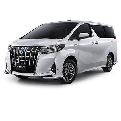 Stierače Toyota Alphard