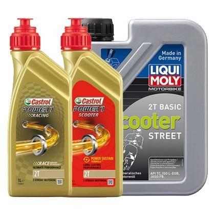 Motorové oleje 2T
