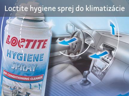 Loctite hygiene spray